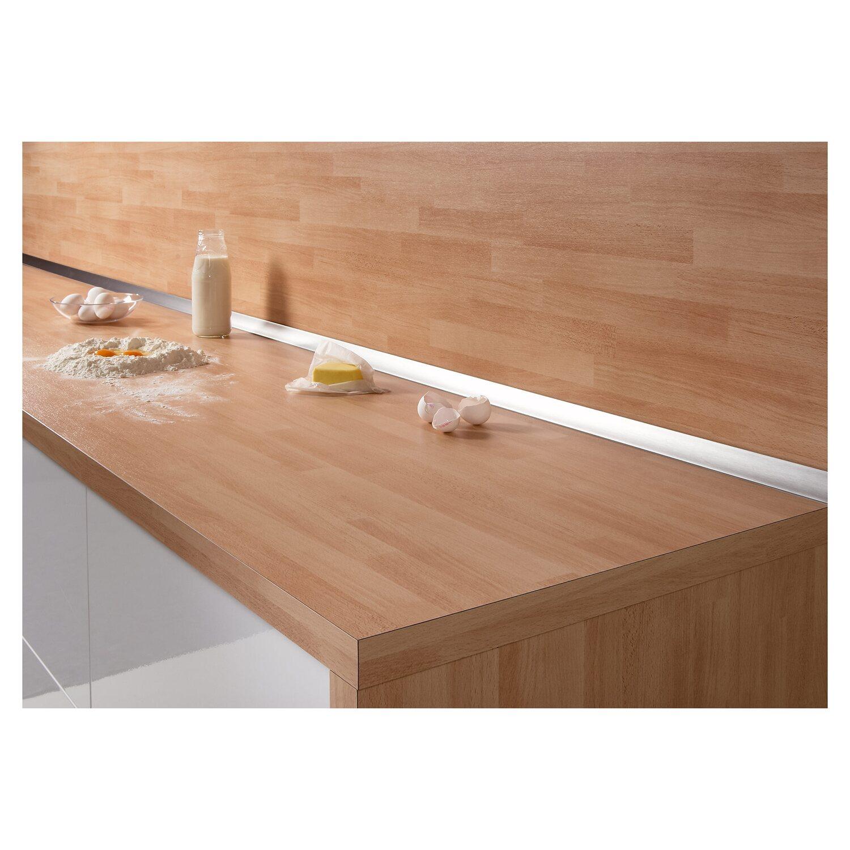 Vorstellen Die Wandabschlussleiste Küche Obi. Wandanschlussleiste Plus 59 X  3 Cm Metallic Kaufen Bei Obi
