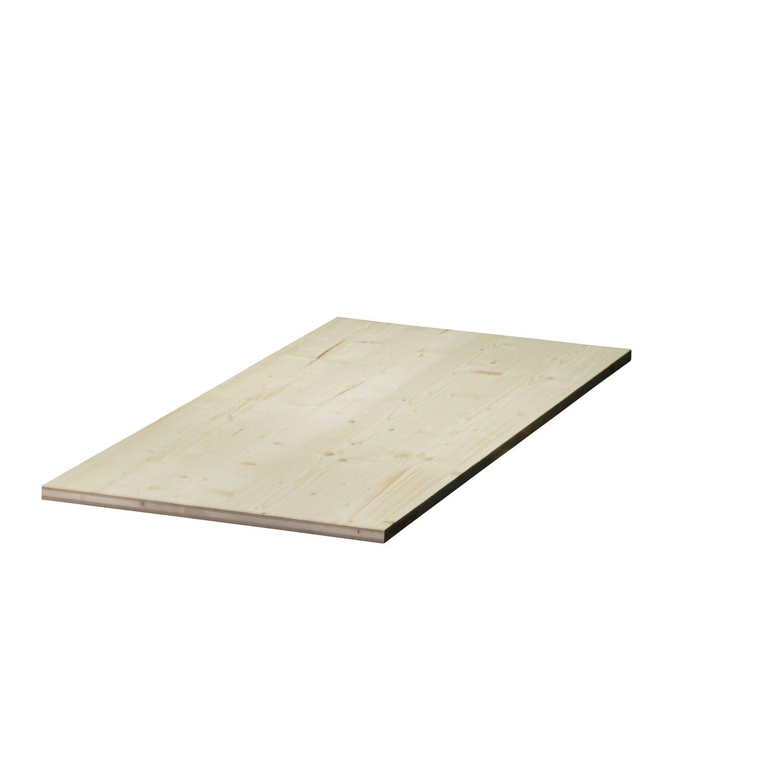Dreischichtplatte Fichte 200 Cm X 50 Cm X 1 9 Cm Kaufen Bei Obi