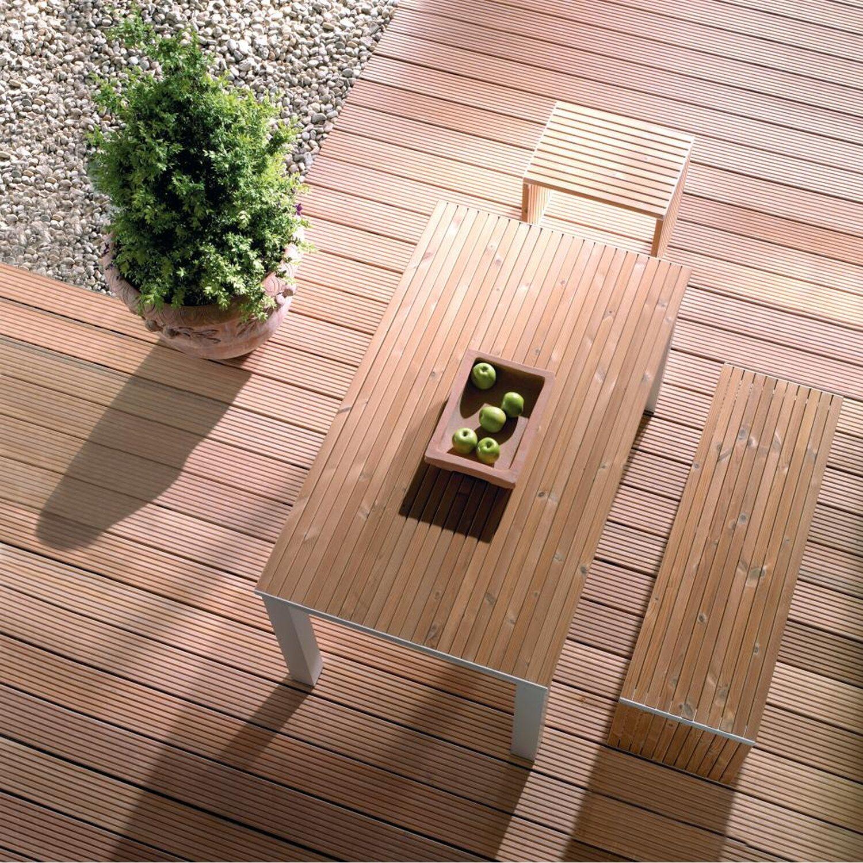 Terrassendiele Bangkirai Genutet 2 1 Cm X 14 5 Cm X 215 Cm Kaufen