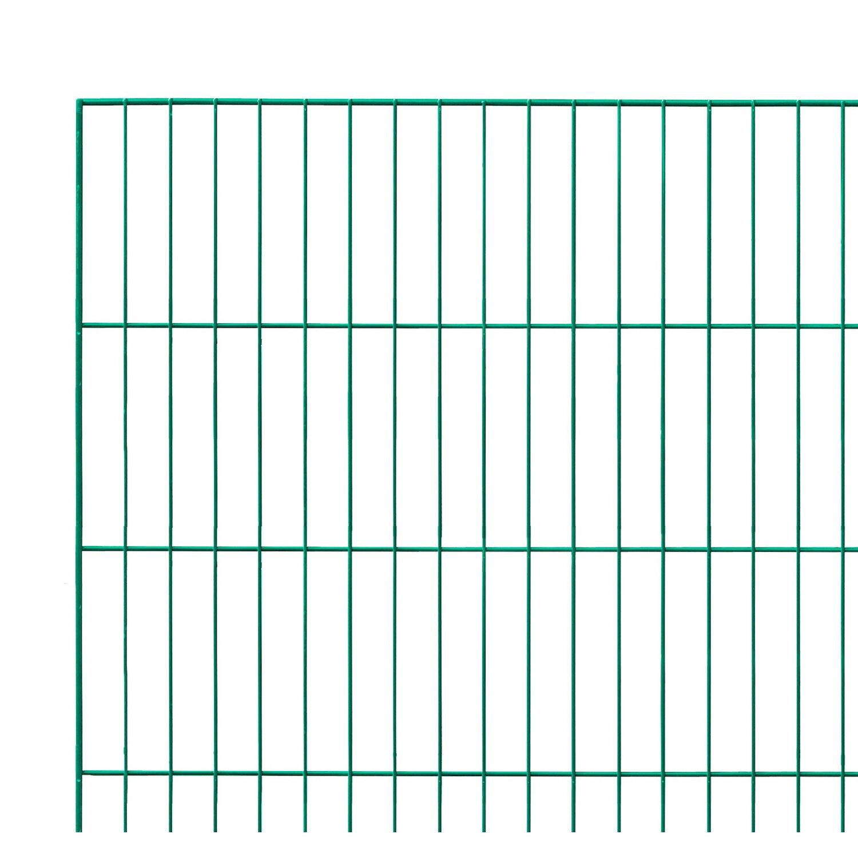Sonstige Einstabmattenzaun Grün 100 cm x 200 cm