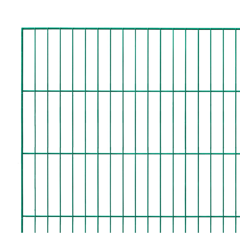 Sonstige Einstabmattenzaun Grün 125 cm x 200 cm