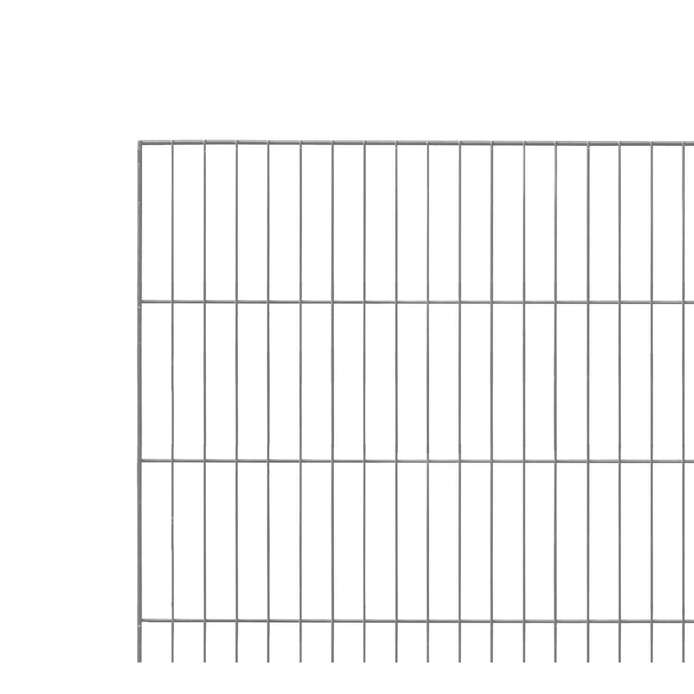 Sonstige Einstabmattenzaun Anthrazit 125 cm x 200 cm