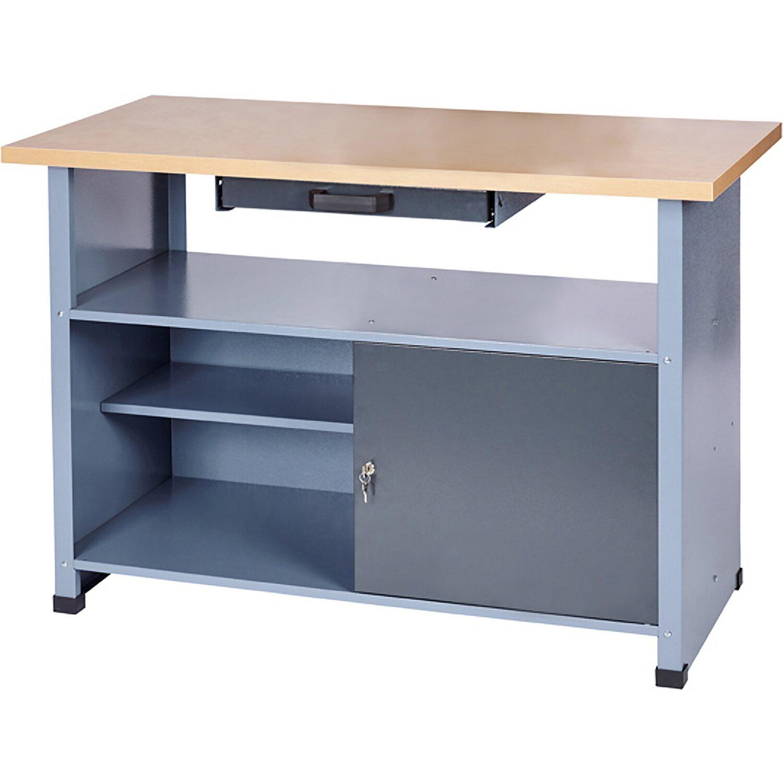 Werkbank 1 Tür 1 Schublade 1200 mm breit kaufen bei OBI