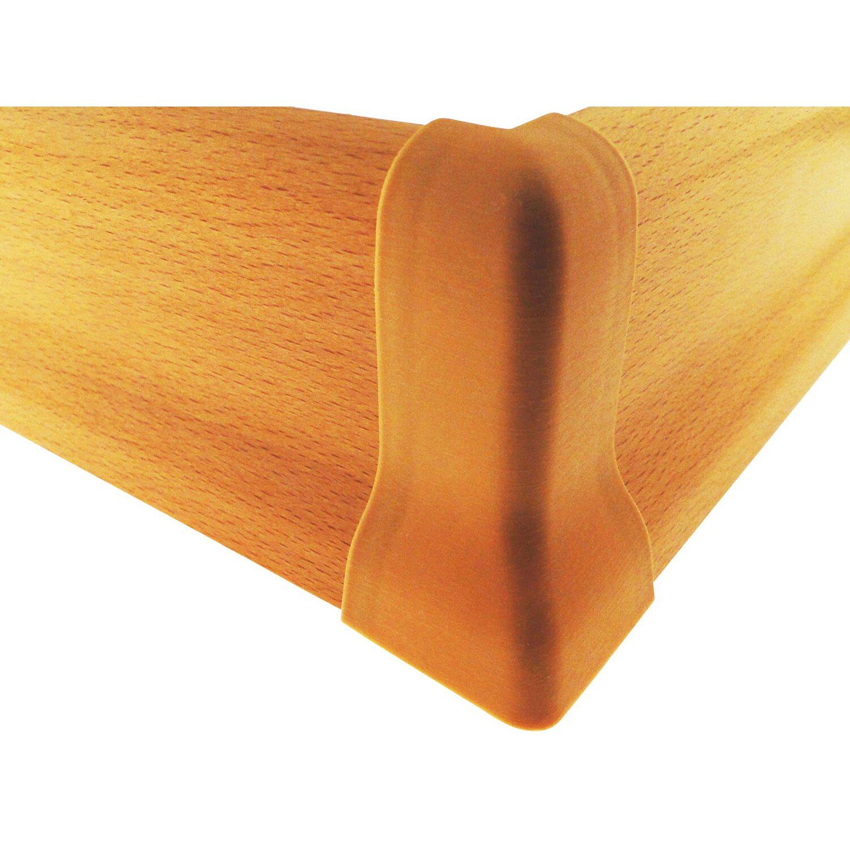 Farbe Buche außenecken zu sockelleiste 21 mm x 60 cm farbe buche kaufen bei obi