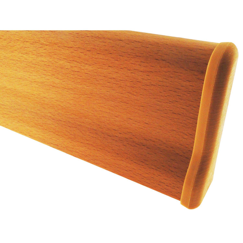 Farbe Buche endkappen zu sockelleiste 21 mm x 60 cm farbe buche kaufen bei obi
