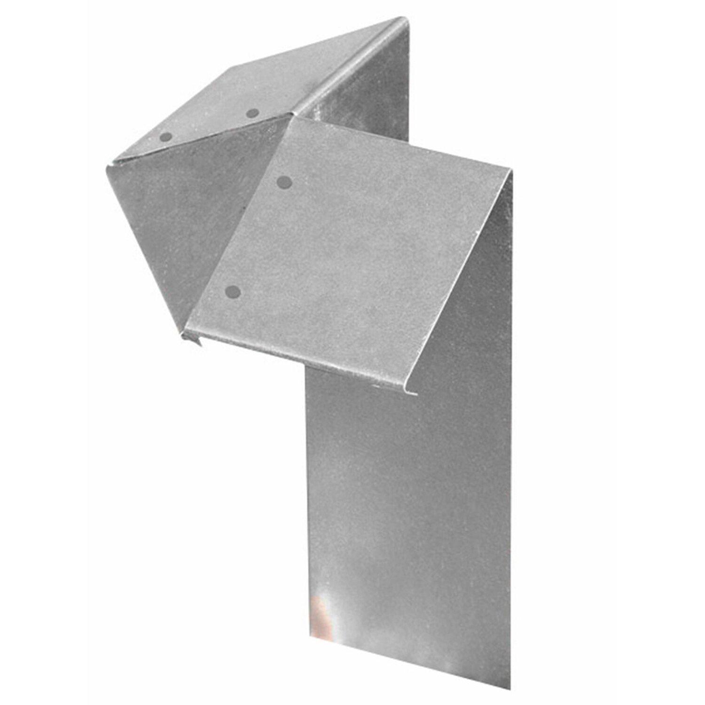 Bellissa belissa 1 St. Anti-Schneckenzaun-Element, Eckteil, 7x7 cm