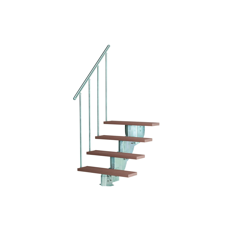 dolle au entreppe gardenstep kit 2 starterset f r 3 stufen a 80 cm kaufen bei obi. Black Bedroom Furniture Sets. Home Design Ideas