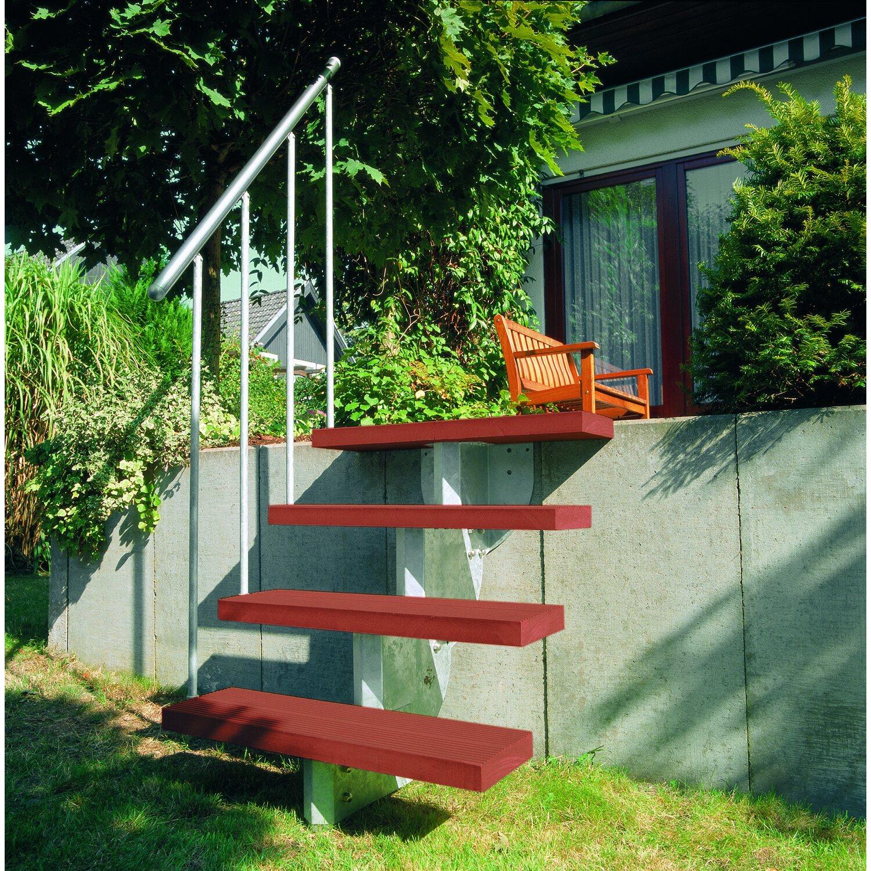 dolle außentreppe gardenstep kit 2 starterset für 3 stufen a 80 cm