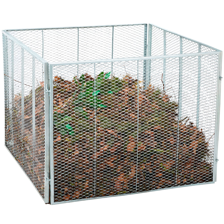 Komposter verzinkt 4 teilig kaufen bei obi for Stahlwandpool bei obi
