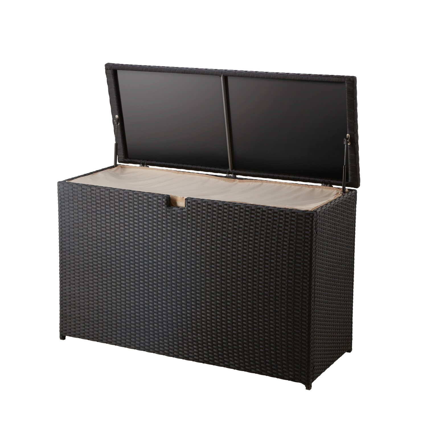 obi kissenbox davenport schwarz kaufen bei obi. Black Bedroom Furniture Sets. Home Design Ideas