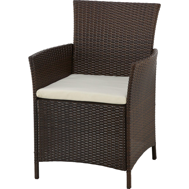 gartenm bel gruppe braun 4 tlg kaufen bei obi. Black Bedroom Furniture Sets. Home Design Ideas