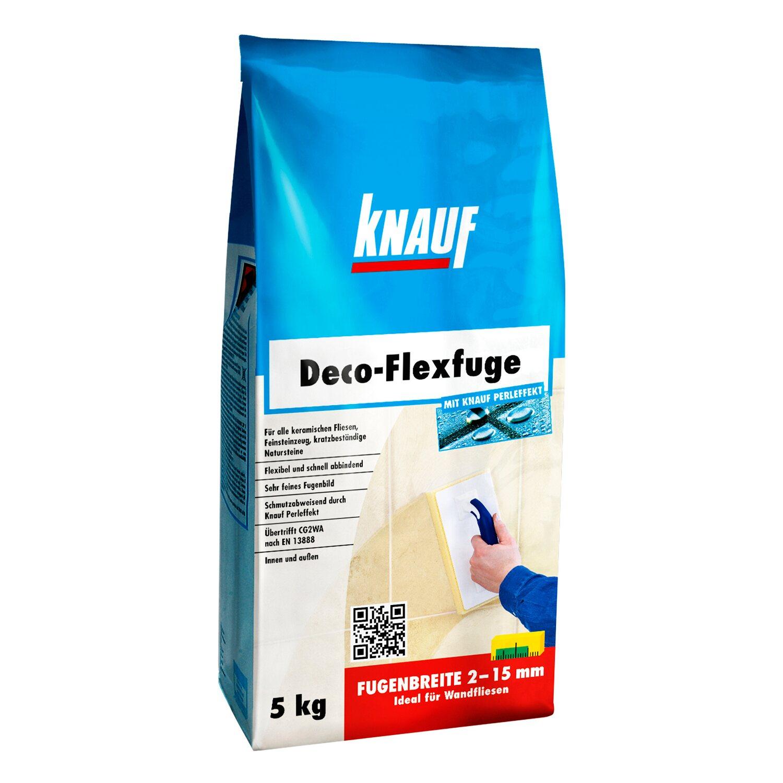 Knauf  Deco-Flexfuge Dunkelbraun 5 kg