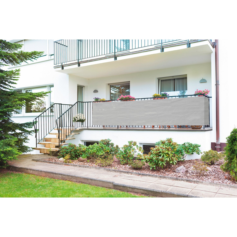 Balkonbespannung Grau 90 Cm X 500 Cm Kaufen Bei Obi