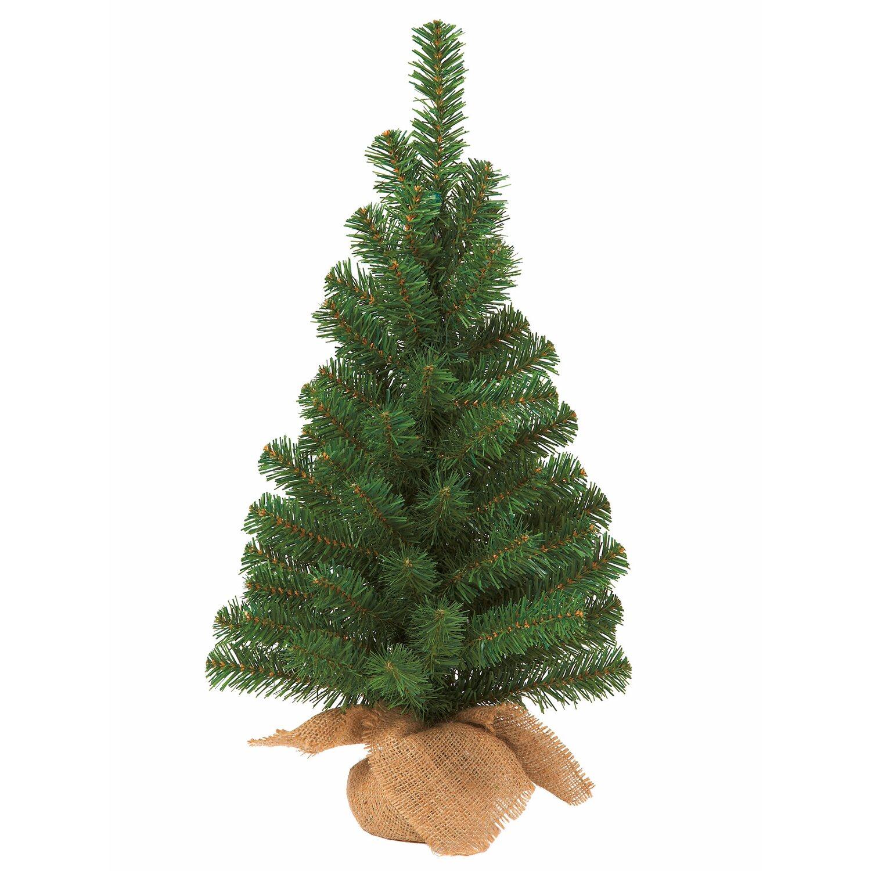 k nstlicher weihnachtsbaum 60 cm im jutesack kaufen bei obi. Black Bedroom Furniture Sets. Home Design Ideas