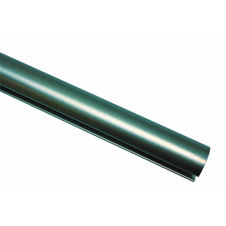 Gardinia Spezialträger Chicago 3,5 cm Ø 20mm edelstahl-optik 9 cm x 14 cm