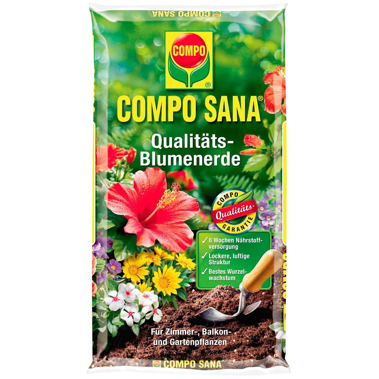Compo Sana Garten Pflanzen Und Qualitäts Blumenerde 10 L Kaufen