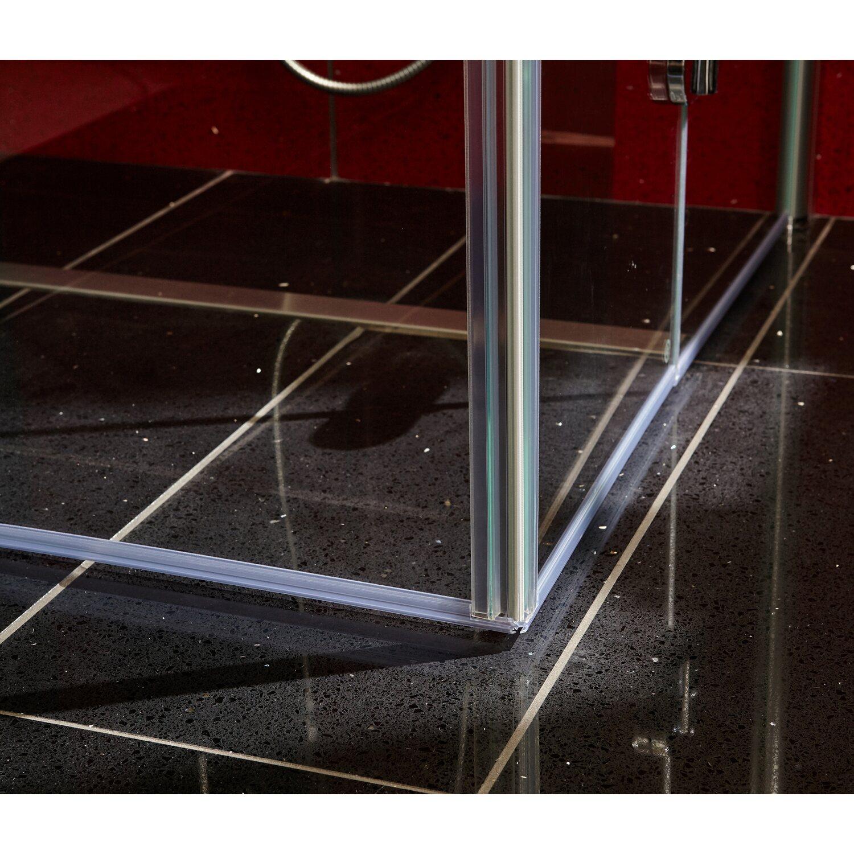 Schulte Eckeinstieg Mit Drehfalttür Garant Echtglas Edelmatt 90 Cm X