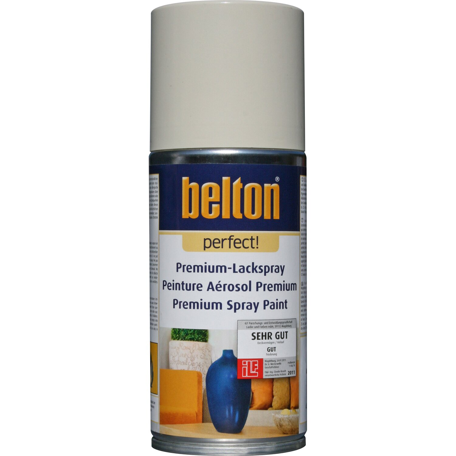 Belton Perfect Premium-Lackspray Weiß seidenmatt 150 ml
