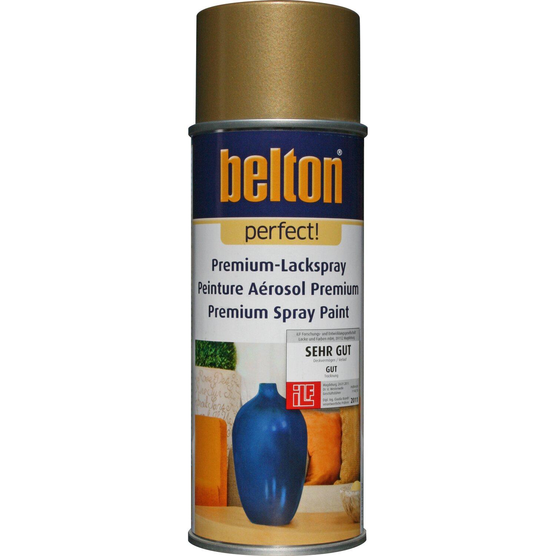 belton Belton Perfect Premium-Lackspray Gold glänzend 400 ml