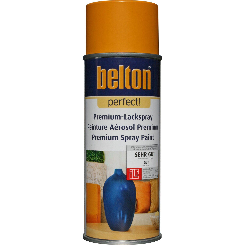 belton Belton Perfect Premium-Lackspray Orange seidenmatt 400 ml