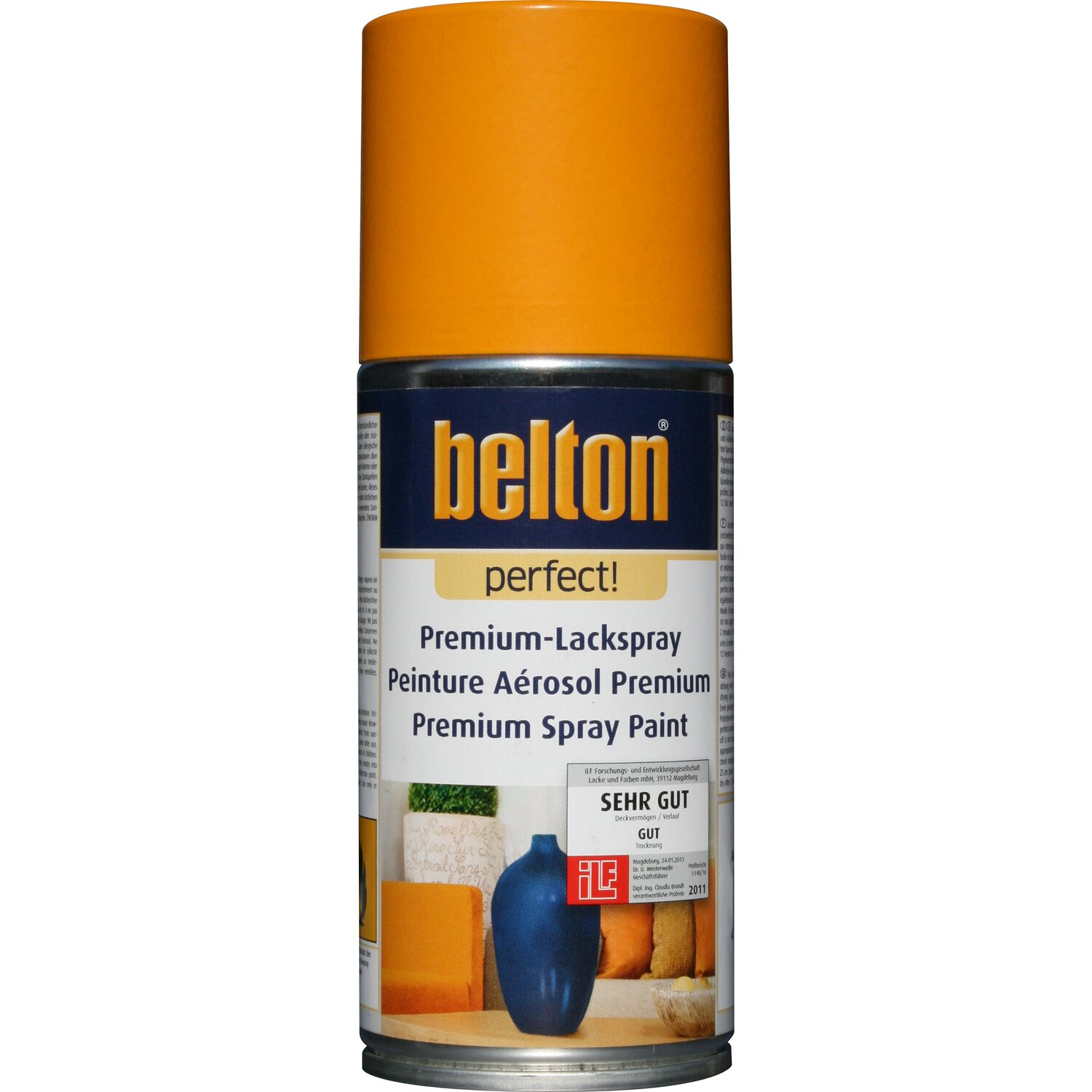 Belton Perfect Premium-Lackspray Orange seidenmatt 150 ml