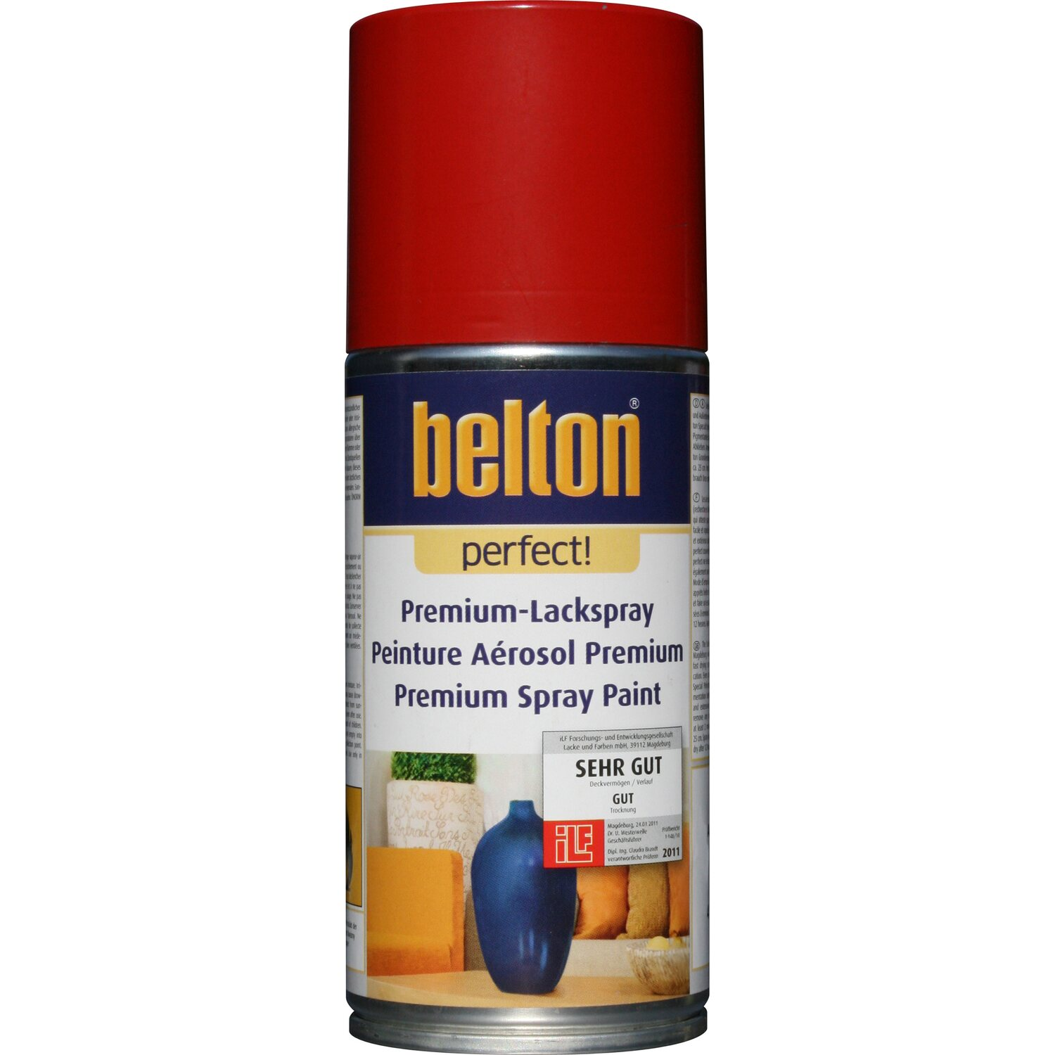 Belton Perfect Premium-Lackspray Rot seidenmatt 150 ml