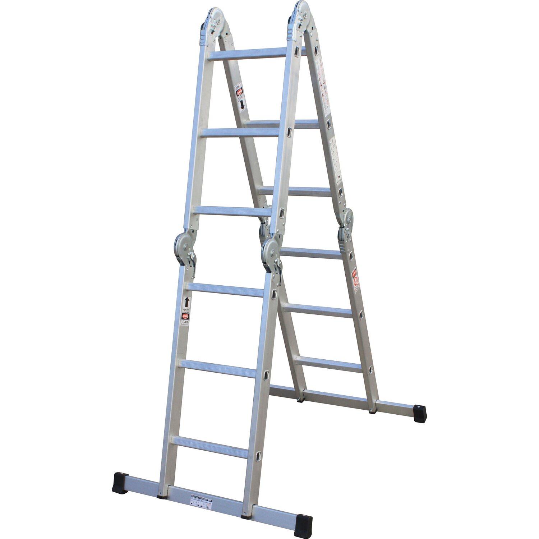 Gelenk-Leiter 4 x 3 Sprossen
