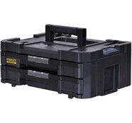 Stanley FatMax Aufbewahrungssystem Tstak IV Werkzeugkoffer mit zwei Schubladen