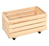 OBI Holz-Rollkiste