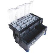 LUX Werkzeugkoffer mit Sortierkasten Profi Plus
