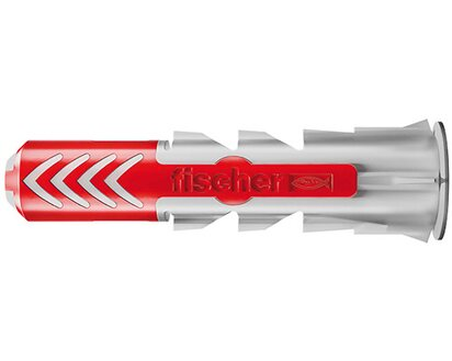 10 x Dübel Fischer DUOPOWER 5x25 mm Universal Nylon mit Schraube gute Haltewert