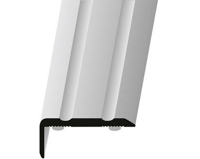 Winkelprofil Selbstklebend 24 5 Mm X 15 Mm X 1000 Mm Schwarz Pulverbeschichtet Kaufen Bei Obi