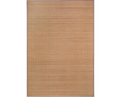Bambus Teppich Natur Dunkel 160 Cm X 230 Cm Kaufen Bei Obi