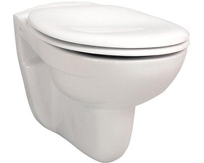 Turbo Sanicomfort Wand-WC Base Flachspüler Weiß kaufen bei OBI AJ28