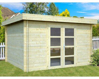 Fußboden Gartenhaus Holz ~ Palmako holz gartenhaus elsa klar imprägniert b t cm
