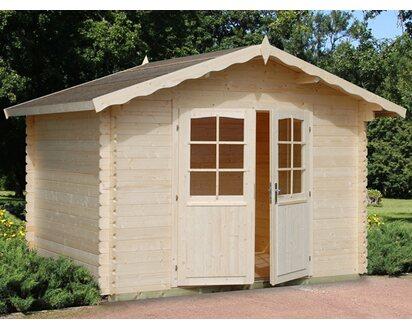 Gartenhaus Mit Fußboden Kaufen ~ Palmako holz gartenhaus vivian braun b x t: 300 cm x 240 cm inkl