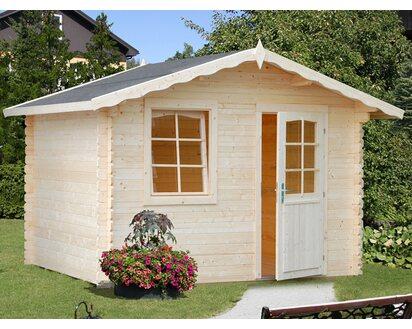 Fußboden Gartenhaus Holz ~ Palmako holz gartenhaus emma braun b t cm cm inkl