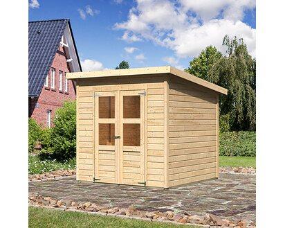 Woodfeeling Holz Gartenhaus Neuenburg 2 Natur 208 Cm X 210 Cm Kaufen Bei Obi