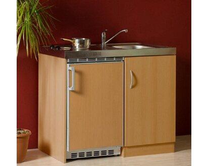 Miniküche Mit Ceranfeld Ohne Kühlschrank : Mebasa miniküche ohne oberschrank mit pantryauflage mit ceranfeld