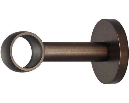 Beliebt Mydeco Gardinenstange-Halterung Noble Bronziert Ø 2,5 cm Abstand 8 JK17