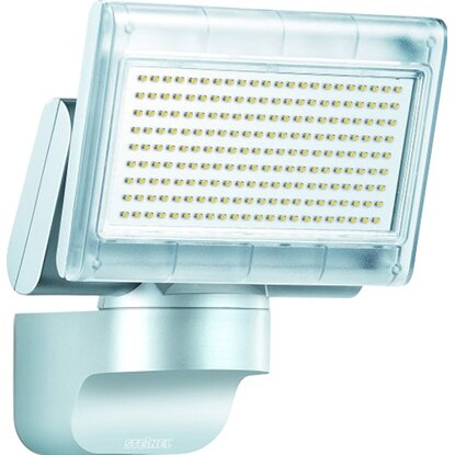 Steinel LED-Strahler EEK: A-A++ XLED Home 1 Slave Silber