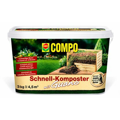 Compo Schnell-Komposter plus Guano 3 kg