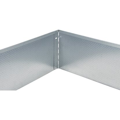 rasenkante noppenstruktur verzinkt 118 cm x 20 cm kaufen. Black Bedroom Furniture Sets. Home Design Ideas