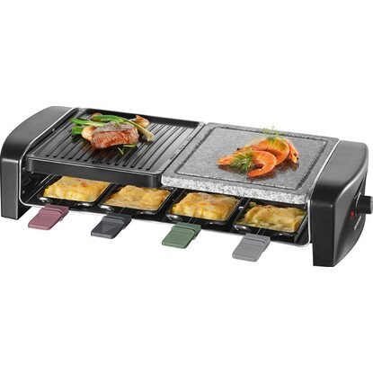 Severin Raclette-Grill RG 9645 mit Naturgrillstein