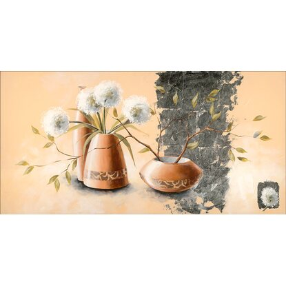 leinwandbild vase vi 50 cm x 100 cm kaufen bei obi. Black Bedroom Furniture Sets. Home Design Ideas
