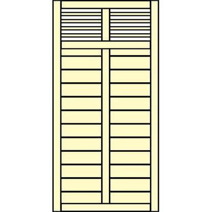 sichtschutzzaun element limone mit gitter wei 90 cm x 180 cm kaufen bei obi. Black Bedroom Furniture Sets. Home Design Ideas