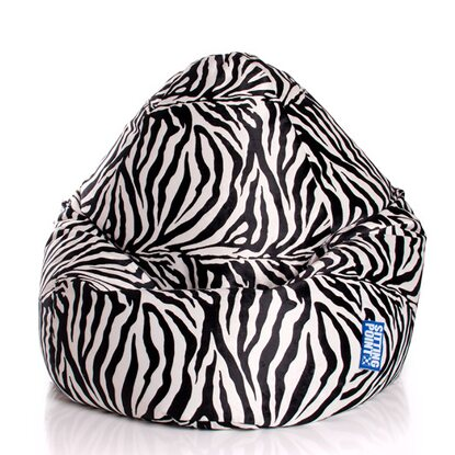 Sitting Point Sitzsack Beanbag XL 220 l Zebra
