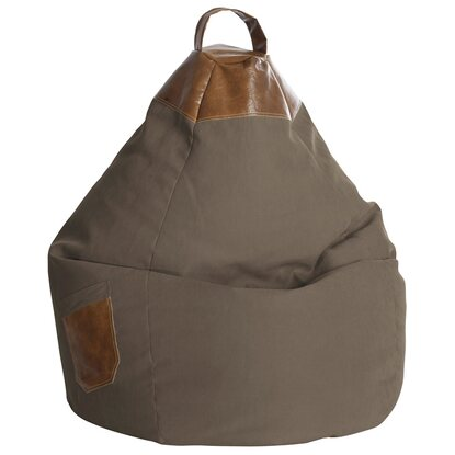 Sitting Point Sitzsack Beanbag Jamie 220 l Braun