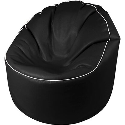 Sitting Point Sitzsack Tube Cosy Lederimitat Schwarz