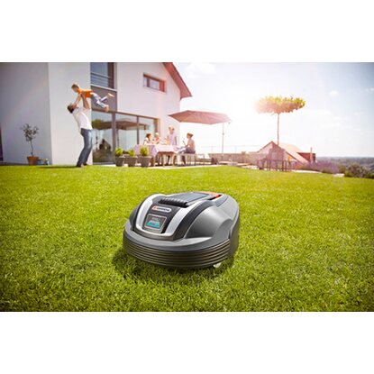 gardena m hroboter r70 li f r fl chen bis 700 m mit mulchfunktion kaufen bei obi. Black Bedroom Furniture Sets. Home Design Ideas